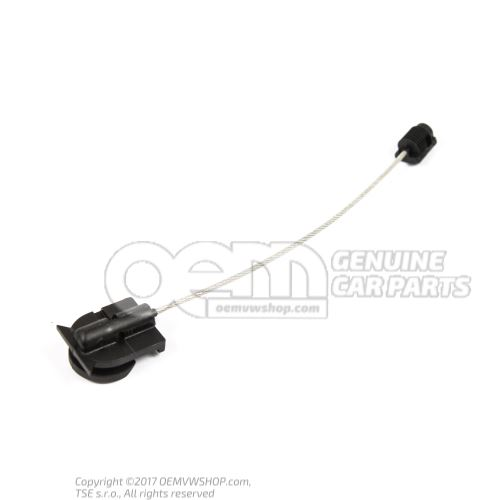 Cable with clip 8N0837070A